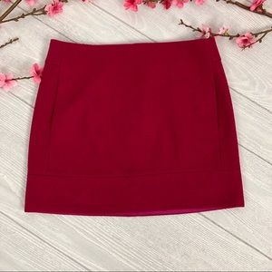 J Crew Double Serge Mini Skirt